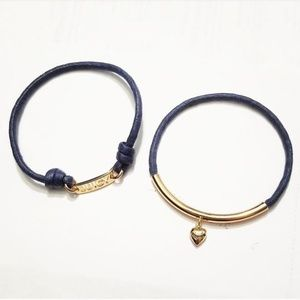 Juicy Couture Blue Charm Bracelet Set